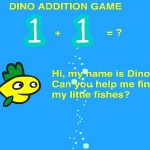 DINO ADDITION GAME