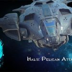 Halo Pelican Attack