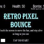 Retro Pixel Bounce