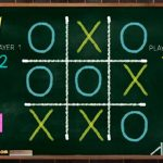 Tic Tac Toe Blackboard