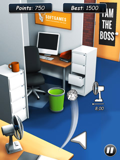 Download Paper Toss for Android - free - latest version